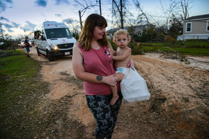 American Red Cross Hurricane Michael Response.